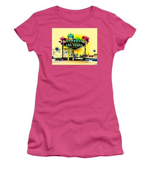 Vegas Weekends Women's T-Shirt (Athletic Fit)