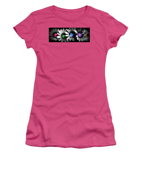 Colored Blind Women's T-Shirt (Junior Cut) by Janice Westerberg