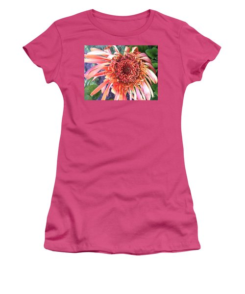 Daisy In The Wind Women's T-Shirt (Athletic Fit)