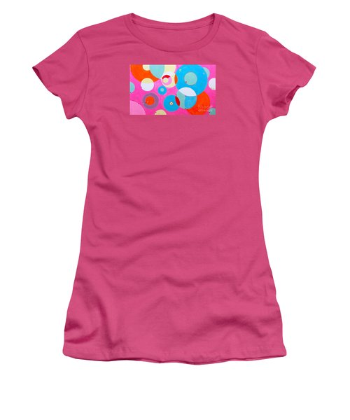 Girl Women's T-Shirt (Junior Cut) by Beth Saffer