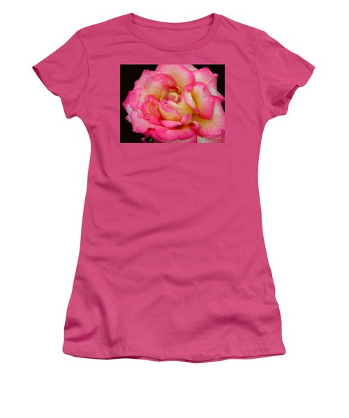 Rose 2 Women's T-Shirt (Junior Cut) by Mark Gilman