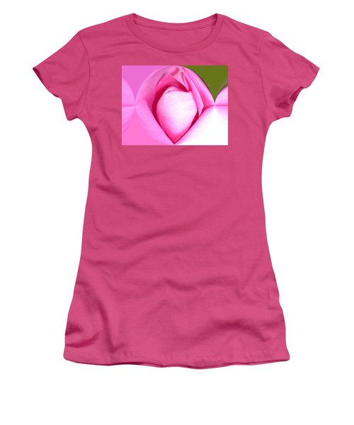 Rose1 Women's T-Shirt (Athletic Fit)