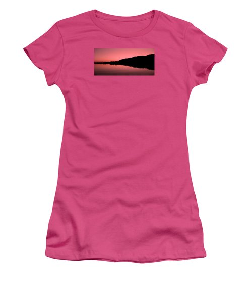 Women's T-Shirt (Junior Cut) featuring the photograph The End Of The Day ... by Juergen Weiss