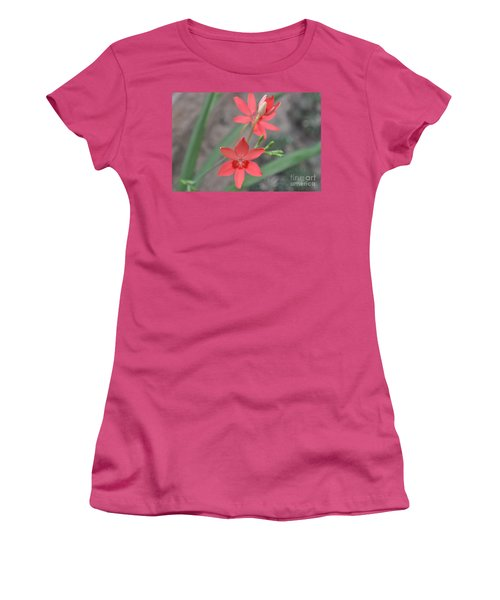 Floating Orchid Women's T-Shirt (Athletic Fit)