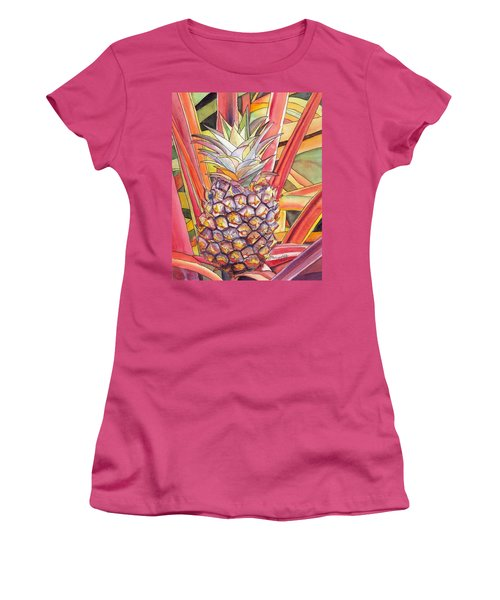 Pineapple Women's T-Shirt (Athletic Fit)