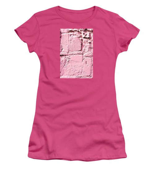 Pink Wall Women's T-Shirt (Athletic Fit)