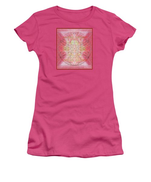 Sacred Symbols Out Of The Void 1b Women's T-Shirt (Junior Cut) by Christopher Pringer