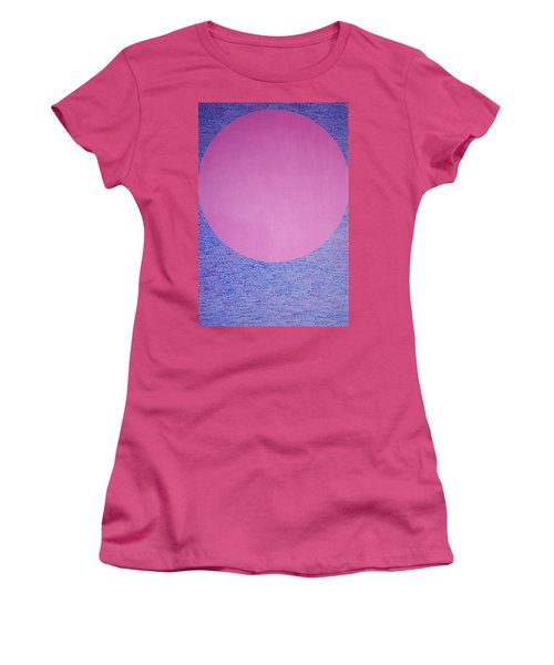 Women's T-Shirt (Junior Cut) featuring the painting Perfect Existence by Kyung Hee Hogg