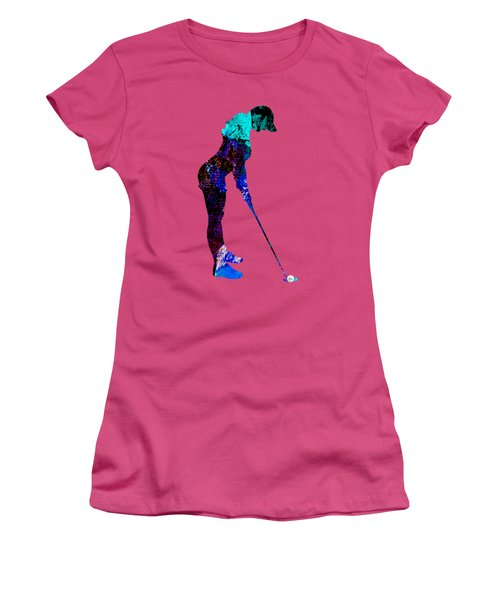 Womens Golf Collection Women's T-Shirt (Junior Cut) by Marvin Blaine