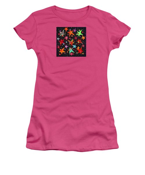 A Winter's Night In Yukon Women's T-Shirt (Athletic Fit)