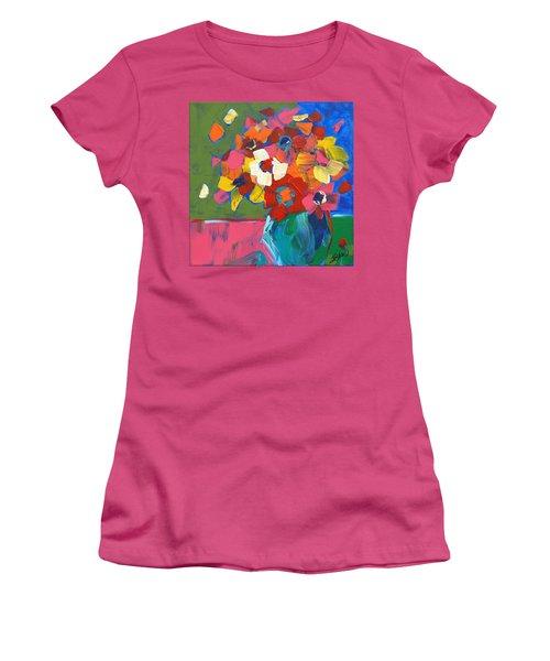 Abstract Vase Women's T-Shirt (Junior Cut) by Terri Einer