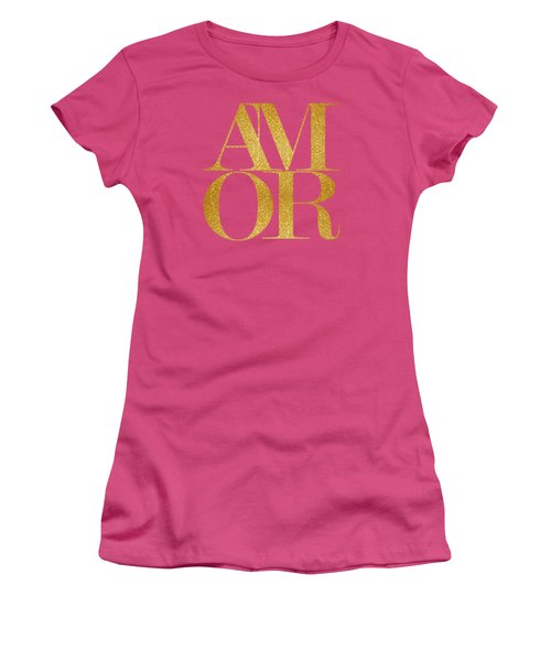 Amor Women's T-Shirt (Athletic Fit)