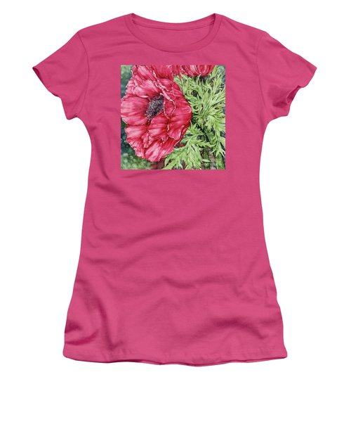 Anemone Women's T-Shirt (Athletic Fit)