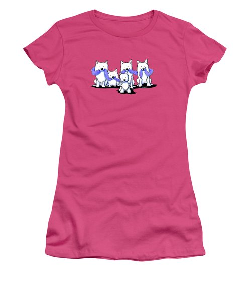 Sams And Westie Women's T-Shirt (Athletic Fit)