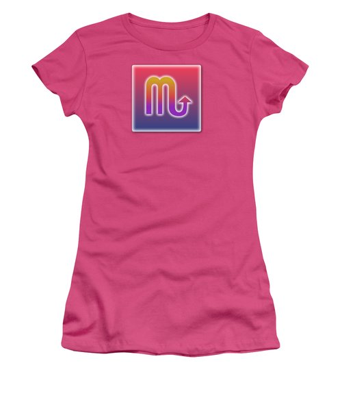 Scorpio October 23 - November 22 Sun Sign Astrology  Women's T-Shirt (Athletic Fit)