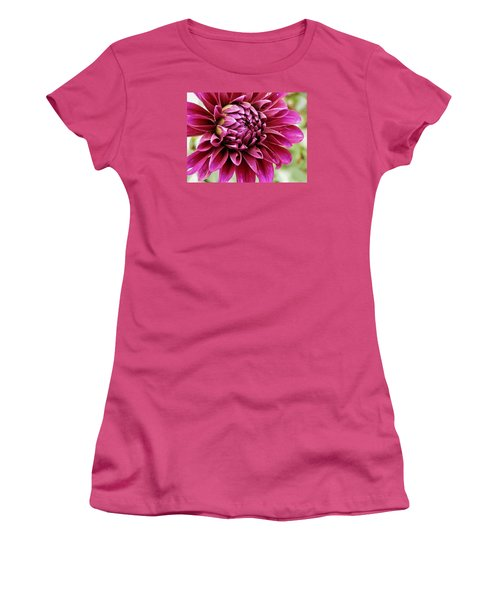 Awesome Dahlia Women's T-Shirt (Athletic Fit)