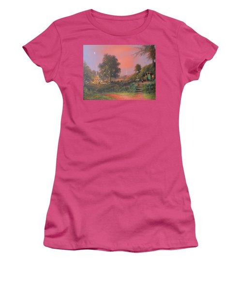 Bilbo's Eleventy-first Birthday Party Women's T-Shirt (Junior Cut) by Joe  Gilronan