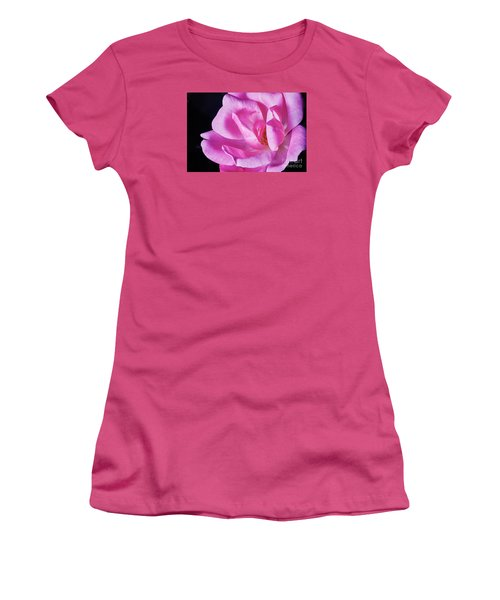 Blooming Rose Women's T-Shirt (Athletic Fit)