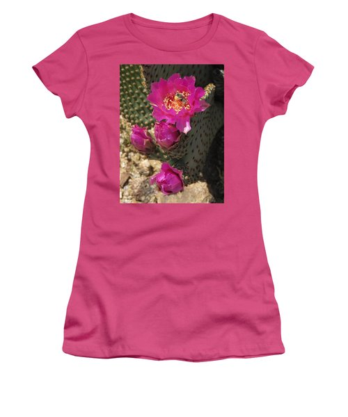 Borrego Springs Bloom 6 Women's T-Shirt (Athletic Fit)