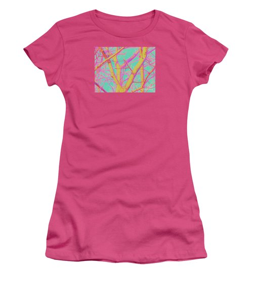 Women's T-Shirt (Junior Cut) featuring the photograph Branching Out 2 by Shirley Moravec