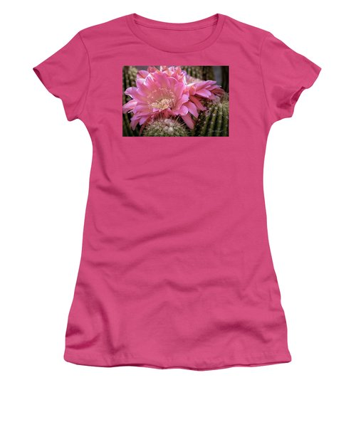 Cactus Bloom Women's T-Shirt (Athletic Fit)