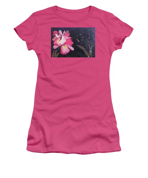 Cattleya Women's T-Shirt (Athletic Fit)