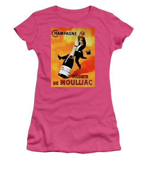 Champagne Celebration Women's T-Shirt (Junior Cut) by Ian Gledhill