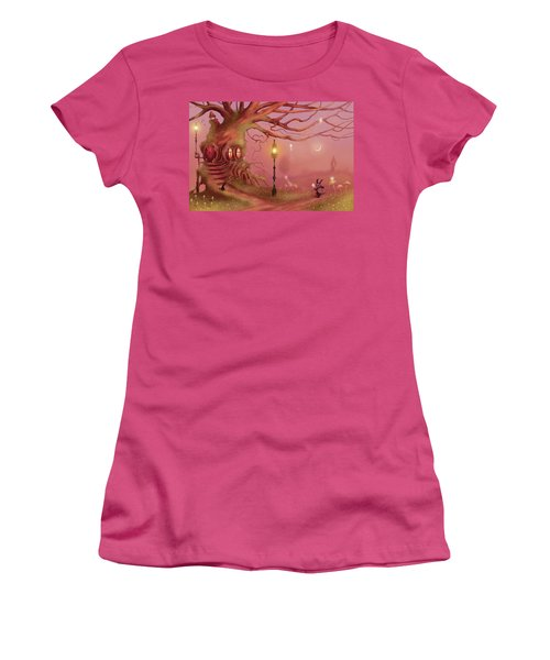 Chasing Fairies Women's T-Shirt (Athletic Fit)
