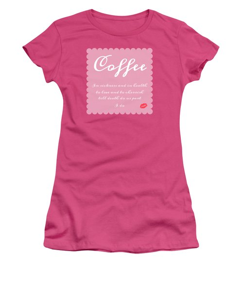 Coffee I Do Women's T-Shirt (Athletic Fit)