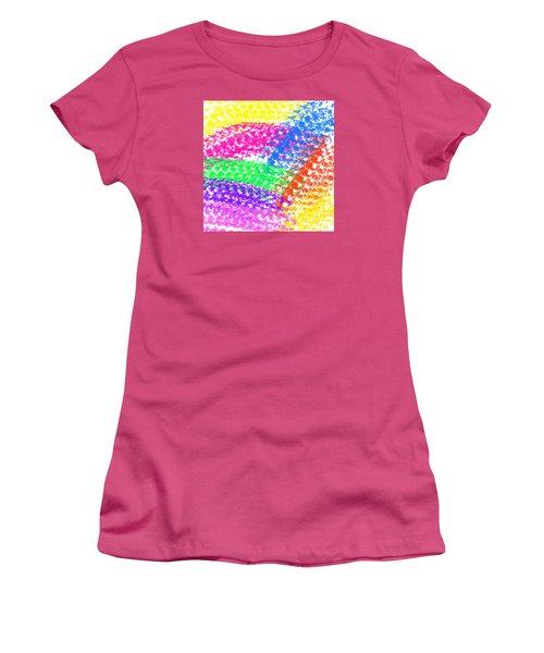 Color Treads Women's T-Shirt (Athletic Fit)