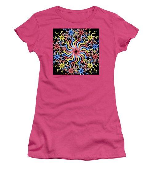 Women's T-Shirt (Junior Cut) featuring the photograph Copperhead Mandala by Brian Jones