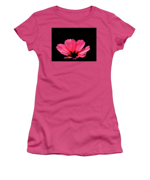 Cosmos Bloom Women's T-Shirt (Athletic Fit)