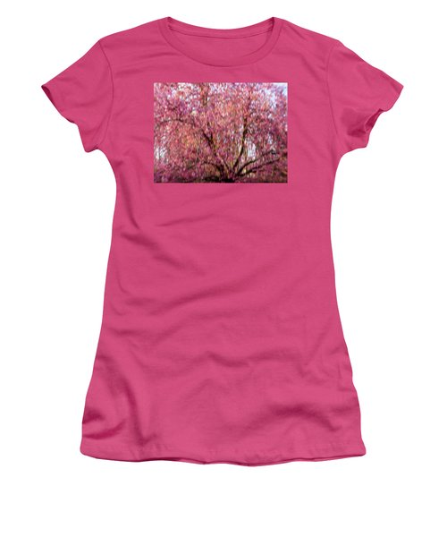 Columnar Sargent Cherry 2 Women's T-Shirt (Junior Cut) by Bernhart Hochleitner