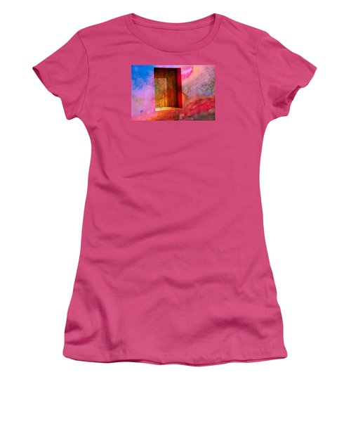 Daubed Women's T-Shirt (Athletic Fit)