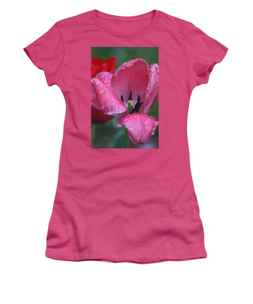 Drops Of Spring Women's T-Shirt (Athletic Fit)
