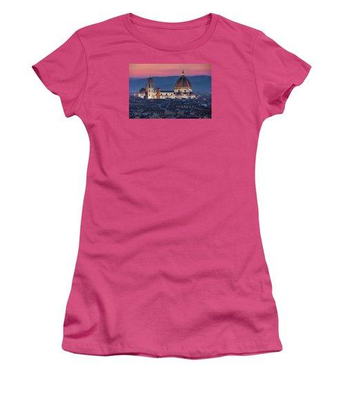 Duomo Di Firenze Women's T-Shirt (Junior Cut) by Brent Durken