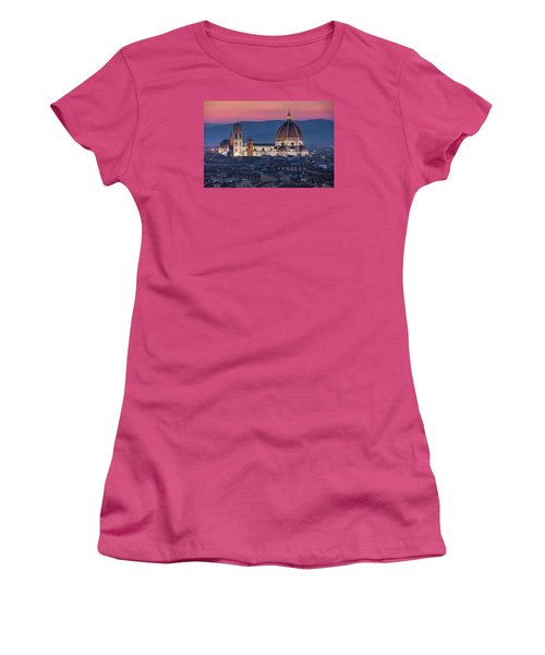 Duomo Di Firenze Women's T-Shirt (Athletic Fit)