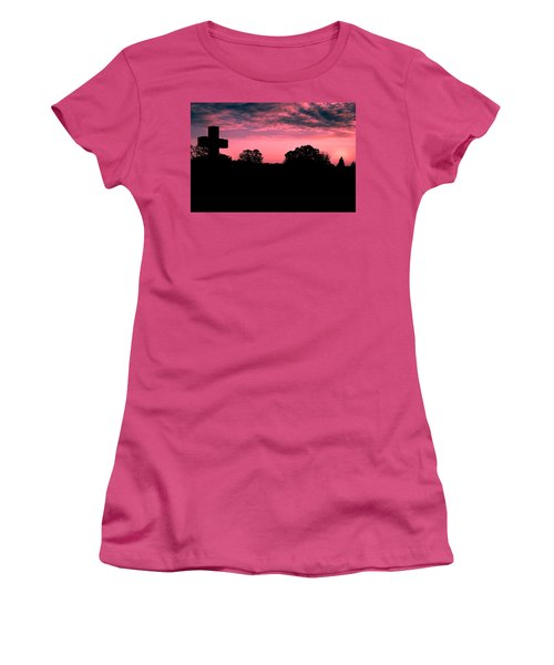 Early On The Hill Women's T-Shirt (Athletic Fit)