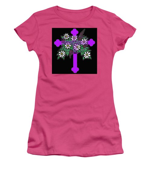 Eastern Ornate 1 Women's T-Shirt (Athletic Fit)
