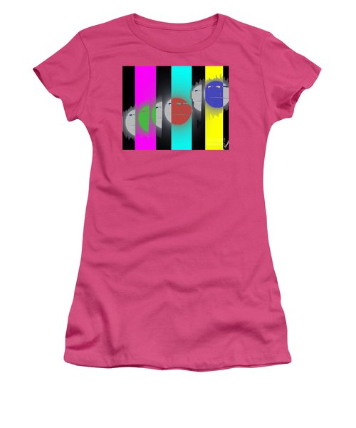 Eclipse Of Love Women's T-Shirt (Athletic Fit)