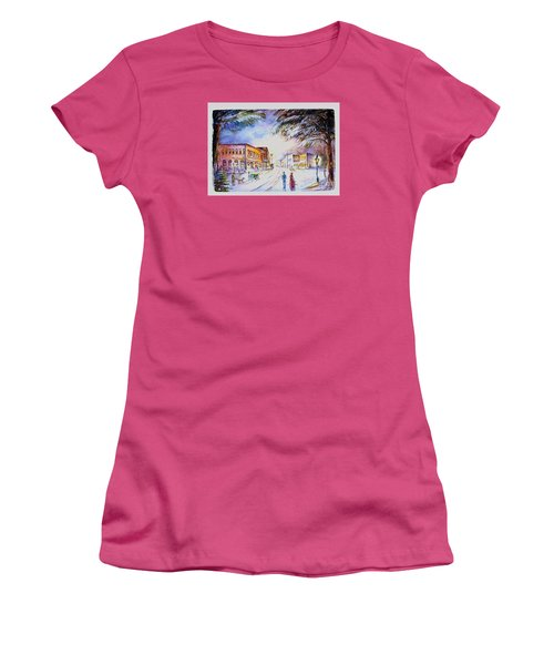 Evening In Dunnville Women's T-Shirt (Athletic Fit)