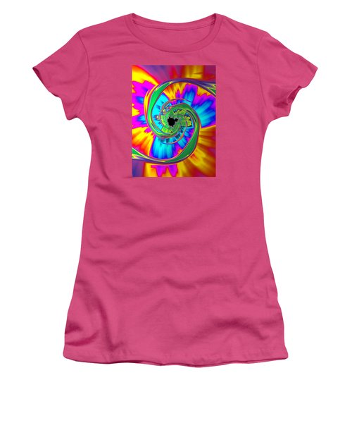 Eye Of The Rainbow Women's T-Shirt (Athletic Fit)