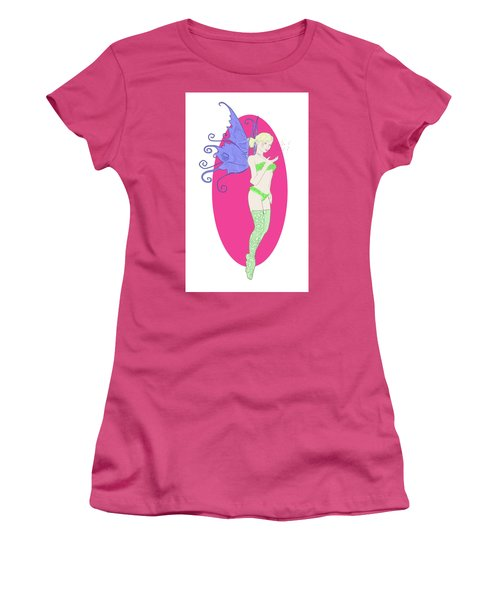 Fairy Illustration 1 Women's T-Shirt (Athletic Fit)