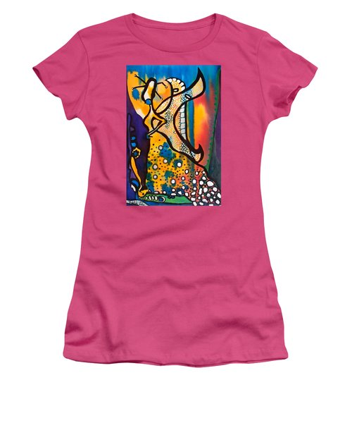 Fairy Queen - Art By Dora Hathazi Mendes Women's T-Shirt (Athletic Fit)