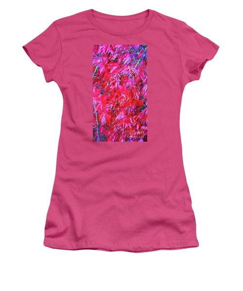 Women's T-Shirt (Junior Cut) featuring the photograph Fancy Pants by Roberta Byram