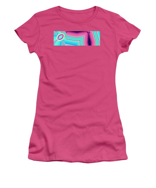 Women's T-Shirt (Junior Cut) featuring the digital art Fertile by Ron Bissett