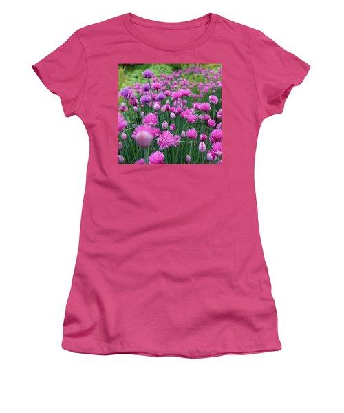 Whistler, British Columbia Women's T-Shirt (Junior Cut) by Heather Vopni