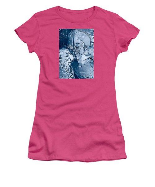 Women's T-Shirt (Junior Cut) featuring the photograph From The Deep by Gary Bridger