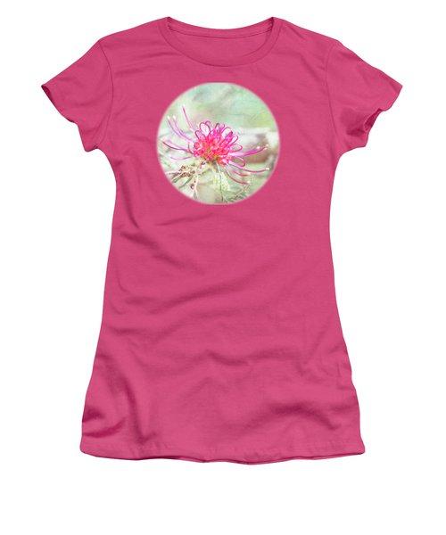 Women's T-Shirt (Junior Cut) featuring the photograph Grevillea by Linda Lees