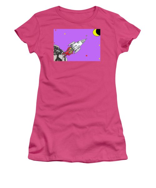 Have Spacesuit Will Travel Women's T-Shirt (Athletic Fit)